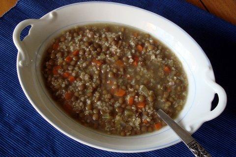Lentil & Bulgur Soup