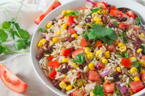 Southwestern Rice & Pinto Bean Salad
