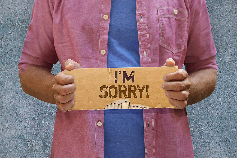 Kiedy nie przepraszać?